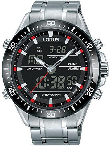 Herren Chronograph Armbanduhr LORUS Sports Casual Cod. rw635ax9