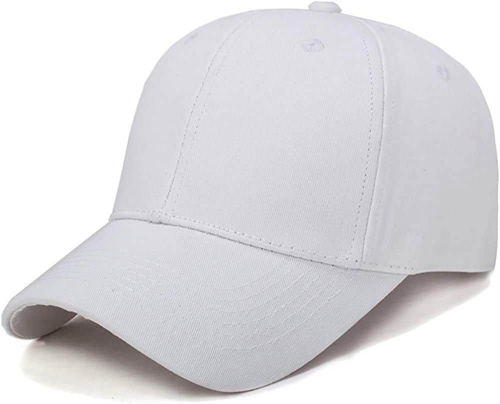 Solid Color Cap Hat for Men Women Classic Practical Non Compromise Look for Daily All Seasons Outdoor Sports Recreation