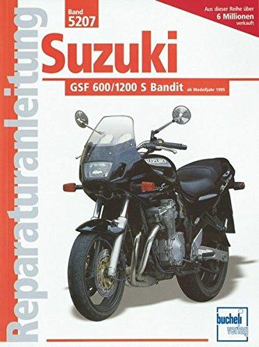 Suzuki GSF 600 / 1200 S Bandit (Reparaturanleitungen)
