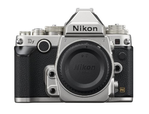 Nikon Df 16.2 MP CMOS FX-Format Digital SLR Camera Body (Silver)
