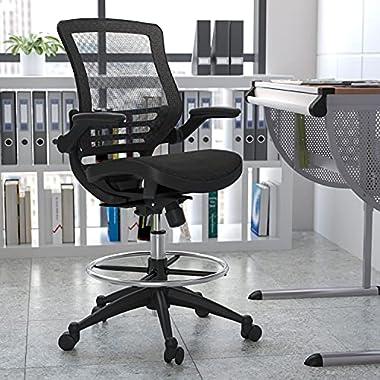 Flash Furniture Drafting Stools, Black