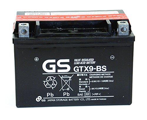 Batteria sigillata YUASA GS GTX9-BS/YTX9-BS 12 V 8 Ah 135 CCA