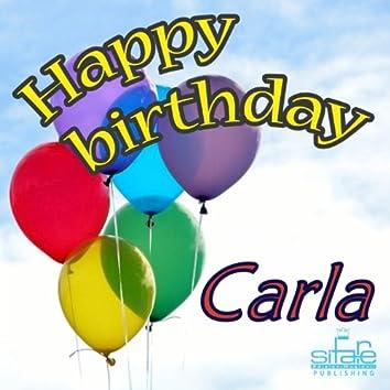 Happy Birthday Carla (Auguri Carla)
