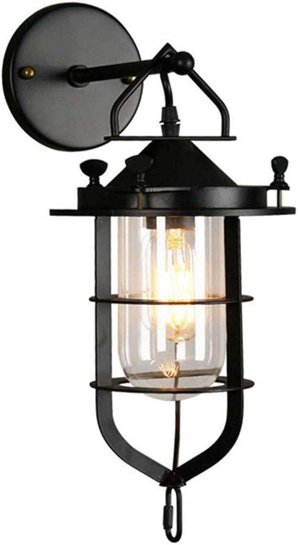 Vintage Style Wandleuchte Lampe Leuchte für Cafe Loft Galerien Flur Künstler Werkstatt E27 Sockel