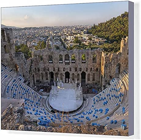 Media Storehouse 20x16 Canvas Cheap Sacramento Mall mail order sales Print of Atticus Herodes Odeon