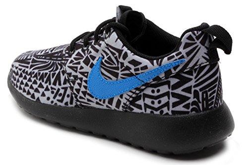 Nike Gradeschool Rosherun Print (GS) Wolf Grey/Black/White/Photo Blue 6777782-005 6