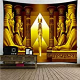 Egyptian Pyramid Sphinx Tapestry Wall-Mounted Decoration Home Living Room Bedroom Tapestry Home Interior Decoration …