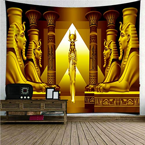 Ägyptische Pyramide Sphinx Wandteppich Wanddekoration Zuhause Wohnzimmer Schlafzimmer Tapisserie Home Innendekoration