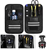 Saddlebag Organizers, 2 Pack Universal for Vehicle Motorcycle Motorbike Saddle Bag Tool Organizers