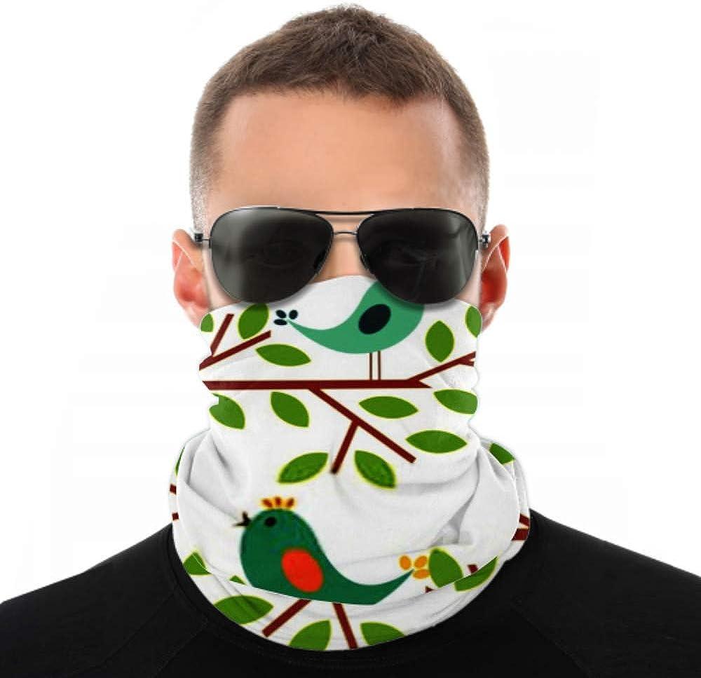 Headbands For Men Women Neck Gaiter, Face Mask, Headband, Scarf Couple Birds Singing Spring Song Vector Turban Multi Scarf Double Sided Print Sport Headbands For Women For Sport Outdoor