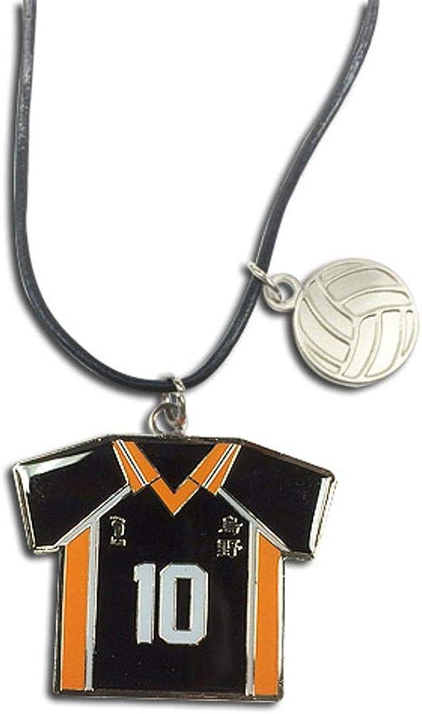 Haikyu!!- Number 10 Team Uniform Necklace