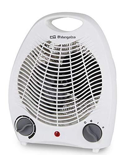 ORBEGOZO Calefactor FH5115 2000W, 1000 W, 230 V, Blanco