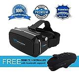 VisionCast Casque de réalité virtuelle 360° pour iPhone 6 6 Plus 7 7 Plus Android et Smartphones 4 à 6 Pouces Joue...