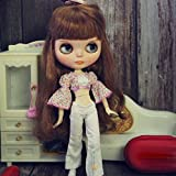 leoglint Blythe Doll Clothes, Shirt and Pants Clothing for Blythe Doll 1/6 30 cm Bjd Dolls Azone ICY Licca Doll