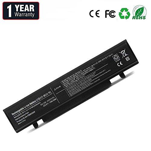 BYDT AA-PB9NC6B AA-PB9NS6B Batería para Samsung R519 R522 R525 R530 R540 R580 R620 R719 R780 Ordenador (6 Celdas 4400mAh 11.1V Negro)