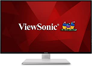 ViewSonic VX4380-4K 43 Inch Frameless Widescreen IPS 4K Monitor with HDMI USB and DisplayPort