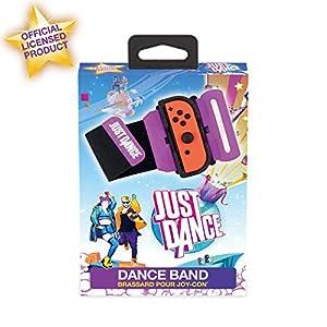 Subsonic Just Dance 2020 - Dance Band Brazalete de control, Correa elástica ajustable con espacio para Joy-Con izquierdo o derecho, Accesorio con licencia oficial Just Dance (Nintendo Switch)