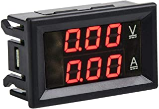 Akozon Display indicatore batteria digitale LED 12V 24V 72V con contaore per carrello 36V 48V