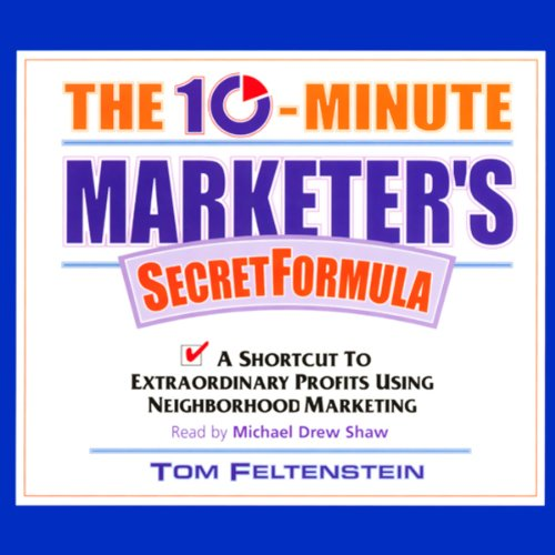The 10-Minute Marketer's Secret Formula audiobook cover art
