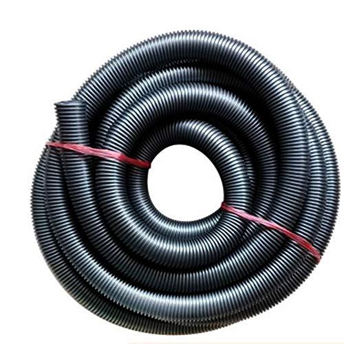 2.5 Metro Vacío Manguera - 32mm Eva Flexible Tubo Completo Manguera de Aspiradora para Home&industrial Aspiradora, Seco Húmedo Aspiradora, Succión de Vacío Máquina - Negro, free size
