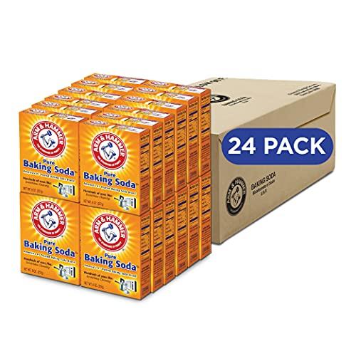 Arm & Hammer Baking Soda, 8 Ounce (Pack of 24)