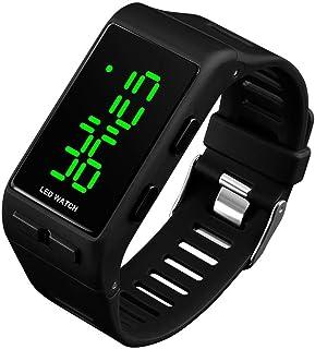 RSVOM Montres Bracelet numériques pour Hommes Femmes, 30M étanche Montre numérique Sport avec Alarme pour Adolescents Fill...