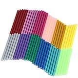 Naler Décorations de la Fête Bâton de Colle Chaude 7mm Colle Thermofusible Coloré...