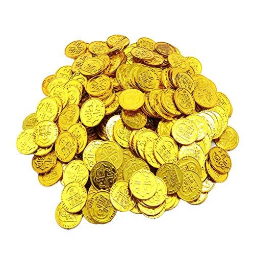 Toyvian Monedas Oro Piratas Juego Juguetes Monedas