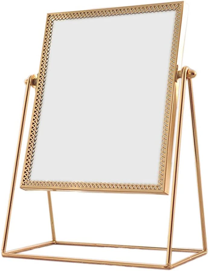 Makeup mirror Rectangular Sale item Mirror Wholesale Hd Rotation Desktop Free 360°