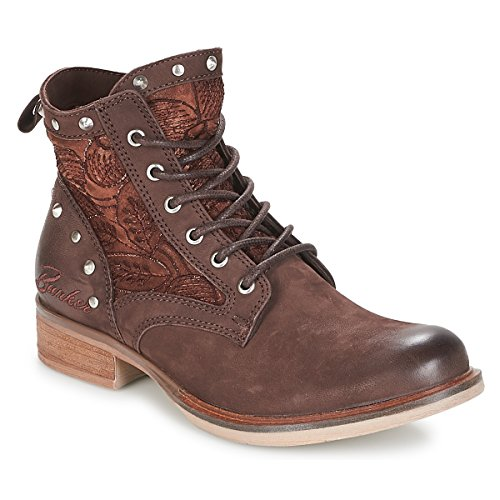 BUNKER Rossi Stiefelletten/Boots Damen Braun - 36 - Boots Shoes