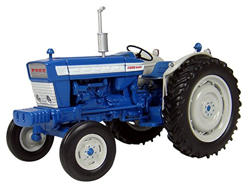 Universal Hobbies - UH 2808 - Tractor - Ford 5000 1964 - Escala 1/32 - Azul