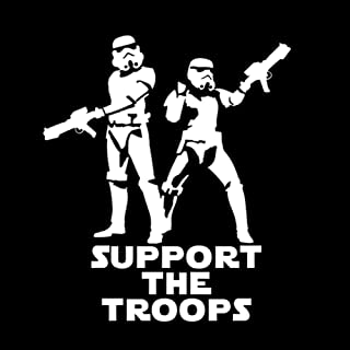 stormtrooper family window decals