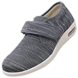 Zapatillas Transpirables Para Caminar,Zapatillas De Estar Por Casa Para Hombre,Gray_44