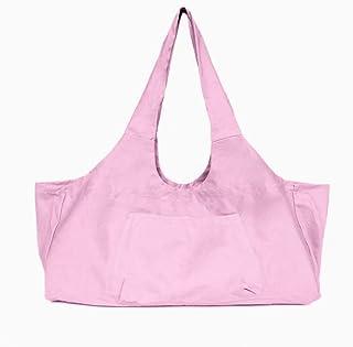 Large Yoga Mat Tote, Yoga mat Sling Carry Bag, Yoga Mat Bag with Side Pocket, Yoga Bag Over Shoulder, Water Bottle Holder ...