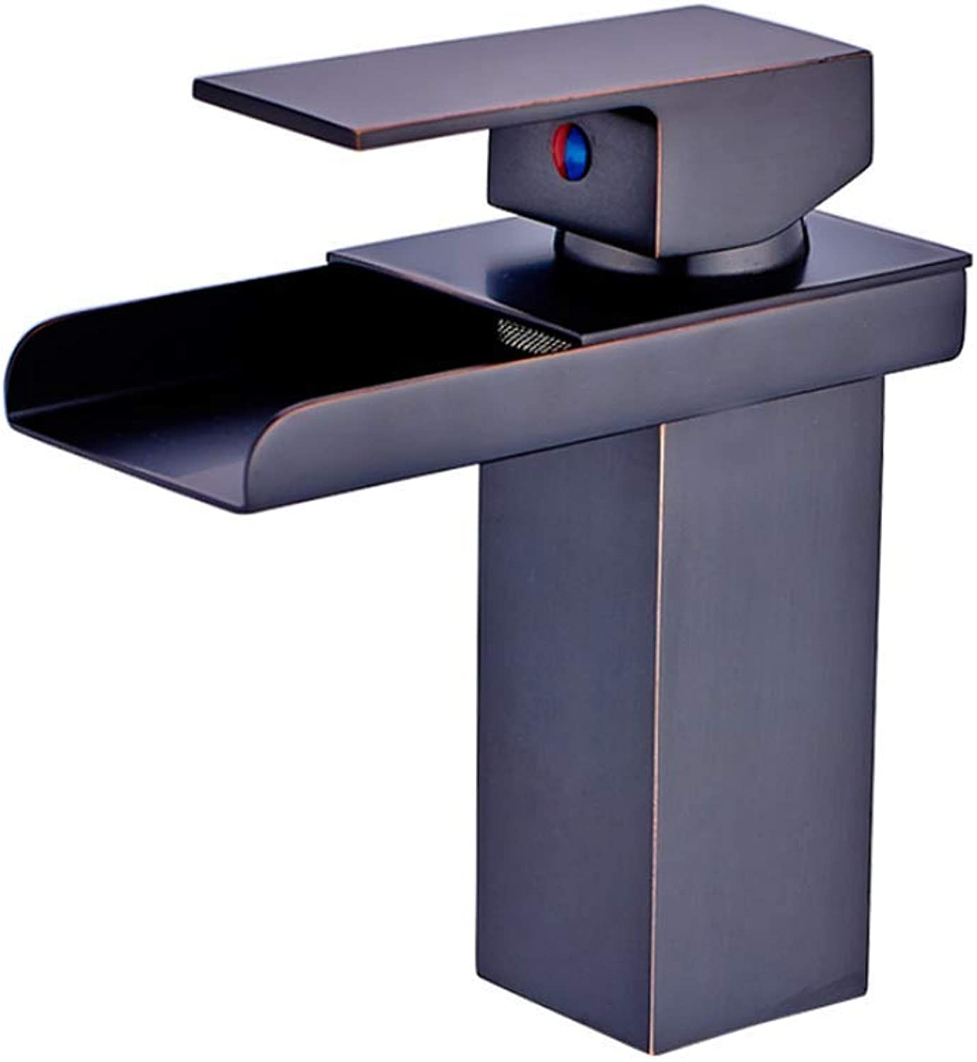 Pull Out The Pull Down Stainless Steelall Copper Black Bronze Modern Waterfall Shower Bath Basin Single Seat Single Seat Hot and Cold Water Faucet