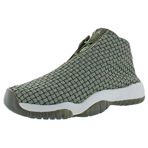 Nike AIR Jordan Future (GS) Boys Fashion-Sneakers bstn_656504-305_7Y - Olive Canvas/Olive Canvas-White