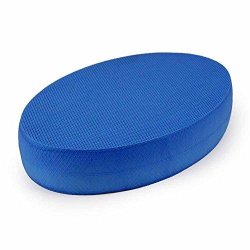 Ovale Schaumstoff-Balance-Pads, stabiles Fitness-Übungskissen, tragbares Gymnastik-Trainer-Board, rutschfestes Balance-Trainer-Board, perfekt für Physiotherapie, Pilates, Krafttraining