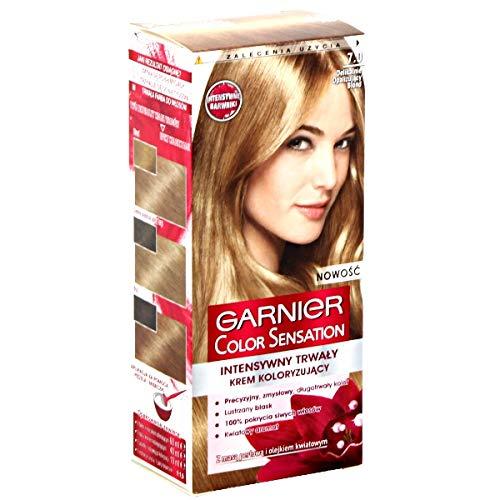 GARNIER - COLOR SENSATION - Permanent hair color cream - 7.0 Delicate Opal Blond