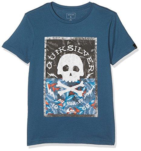 Quiksilver Camiseta Ssteclasytdanbe para Chico, de la Marca, Niños, Camiseta, Ssteclasytdanbe, Indian...