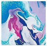 Marabu 12320016885 – Pouring Fluid Acrylmedium, Dünnflüssiges Medium für Gießanwendungen und Fließtechniken, verbessert die Verlaufseigenschaften von Acrylfarben, nicht vergilbend, 750 ml - 9
