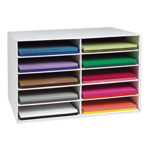 """Tru-Ray 6589 Construction Paper Bulk Assortment 10 Colors 12 x 18/"""" 250 Sheets"""