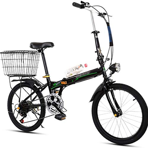 YUEXIN 20 Zoll Klapprad Fahrrad Bikesport, Herren Damen Klapprad Faltrad Fahrrad, Rahmen Stoßdämpfungsgeschwindigkeit Faltrad Mountainbike,leicht und stabil Klappfahrrad Aluminium