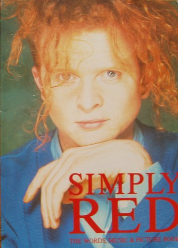 Simply Red: Words, Music and Picture Book