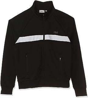 FILA Women's Juna Track Jacket, (/Bright White), Medium