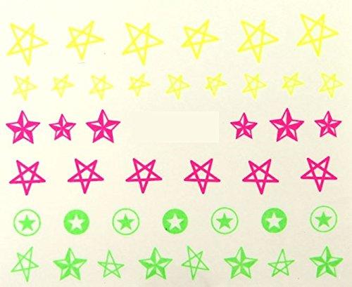 One-Stroke-Sticker Neon 1674