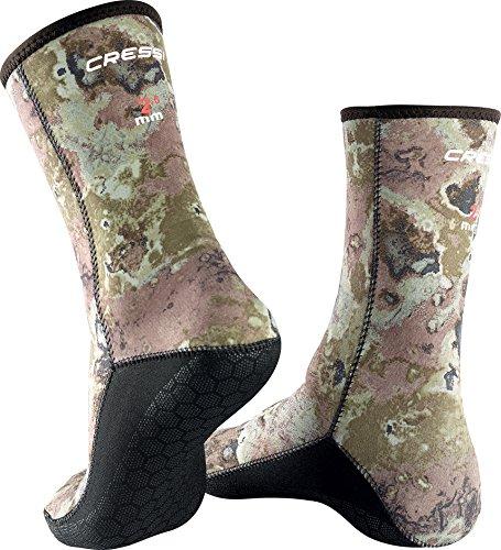 Cressi Anti-Slip Socks 2.5mm, camo, L