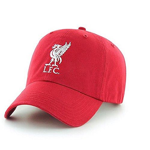 Liverpool FC - Gorra diseño béisbol Oficial Adultos (Talla Única) (Rojo)