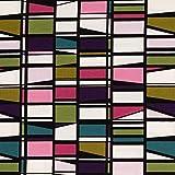 KIYOHARA フィンレイソン CORONNA 生地 オックス 約110cm巾×1mカット Col.PML ピンクマルチ FINF07C-1