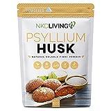 Psyllium Husk Powder de NKD Living (500g) | Probado para metales pesados, microorganismos y más de 500 pesticidas