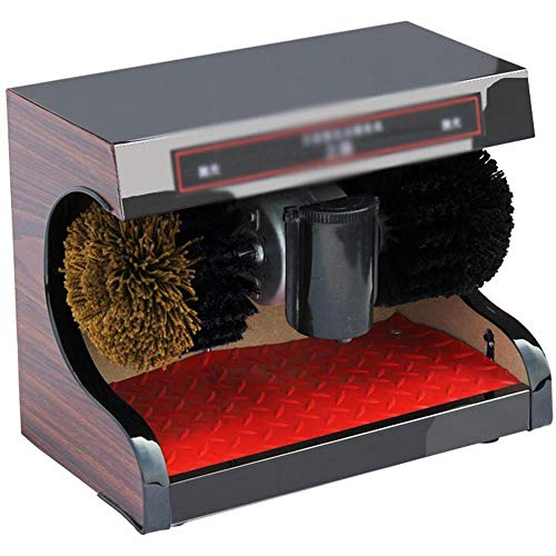 Automatic Shoes Cleaning Machine,Electric Shoe Polish Machine with Shoe Brush,Induction,Suitable for Household Or Public Use